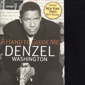 Denzel Washington hardback book